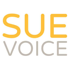 German voice over logo